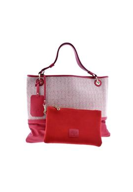 SHOULDER BAG NAPA ROJO